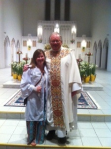 We welcome Mary Kate Sparks to our family of faith